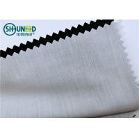 Wholesale Plain Pattern Garments Accessories Polyester / Cotton Pocketing Fabric Rolls from china suppliers