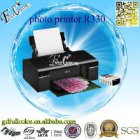 Buy cheap Printing Machine Tshirt / CD / Tray / PVC / ID Card 6 Colors A4 Inkjet Printer R330 for Sublimation & Photo Printing from wholesalers