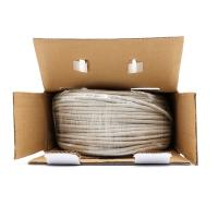 Quality Network 100m UTP Bare Copper Category 5e / Cat5e UTP Cable , 0.5mm Twisted for sale