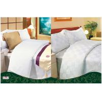 Wholesale 100 % Cotton White Country / Hotel Collection Double Bed Linen from china suppliers