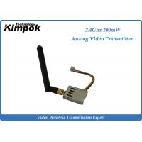 Wholesale 16g Super Lightweight FPV Link 2.4Ghz Wireless Video Transmitter and Receiver 8 Channels from china suppliers