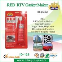 Wholesale Silicone Air Proof RED RTV Gasket Maker , Waterproof And Heat Resistant from china suppliers