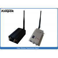 Wholesale 3 Watt Analog Video Transmitter Wireless Video Audio Sender for Security Protection 8CH from china suppliers
