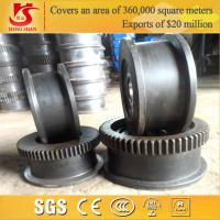 Wholesale OEM Heavy Duty Forging Overhead Crane high quality crane wheel from china suppliers