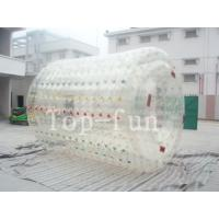 Wholesale Colorful inflatable water roller , human size inflatable water rollers ball from china suppliers