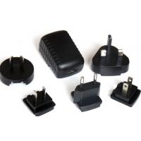 Wholesale CE approved 12V 1A 12W right angle DC tip switching power supply/ac dc adapter/interchangeable plug power adapter from china suppliers