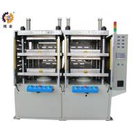 Wholesale 380V 40T Hydraulic Heat Press Molding Machine With Two Work Stations from china suppliers