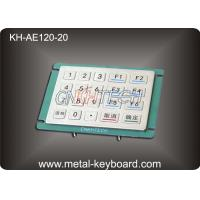 Wholesale 20 Keys Anti Vandal industrial keypad , Outdoor Access entry keypad from china suppliers
