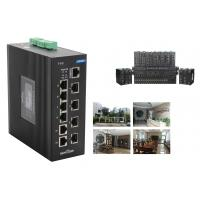 Wholesale 10 Ports 240W Industrial Ethernet Poe Unmanaged Network Switch With 2 Combo Port from china suppliers