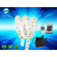 Wholesale 5M 5050 RGB 300 SMD LED Strip Lights IP65 With Controller / Power Supply from china suppliers