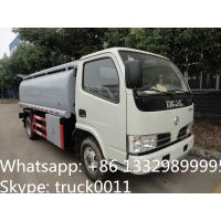 Wholesale Dongfeng 6 Wheel 8000L Gasoline Transport Fuel Tank Truck, hot sale fuel tank for sale, dongfeng fuel dispenser truck from china suppliers