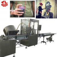 Wholesale Automatic Graffiti Spray Paint aerosol filling machines from china suppliers