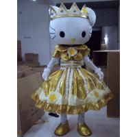 Wholesale handmade full-body cartoon Hello-Kitty mascot fansy dress costumes from china suppliers