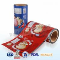 Wholesale Food plastic film for ice cream packing.Food packaging plastic roll film with bestar packaging machine from china suppliers