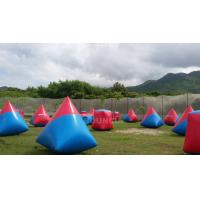 Wholesale 0.6mm PVC Tarpaulin Inflatable Paintball Bunker Airsoft Bunker Set For Shooting Games from china suppliers