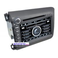 Wholesale Bluetooth 8'' Car Stereo GPS Navigation Multimedia  for Honda Civic 2012+ Left Hand Drive from china suppliers