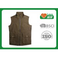 Wholesale Casual Olive Color Outdoor Travel Vest Lightweight For Fishing from china suppliers