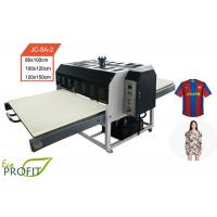 Quality Double Shutle Hydraulic Flat Automatic Heat Press Machine For Jersey Printing for sale