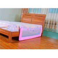 Wholesale Mesh Portable Adjustable Bed Rails / Pink Toddler Bed Railing from china suppliers