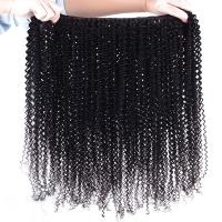 Wholesale AAAAA Top grade remy human hair mixed synthetic fiber hair weaving from china suppliers
