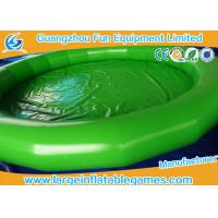 Wholesale Fire Retardant PVC Tarpaulin Large Inflatable Pool For Inflatable Water Roller from china suppliers
