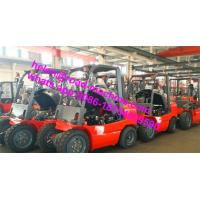 Wholesale 4 Wheel Drive Tractors 3 Ton 145mm Free Lift Forklift Heli CPCD30 Forklift For Dubai from china suppliers