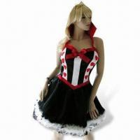 Wholesale Party Costumes, Includes Crown and Collared Petticoat Dress from china suppliers