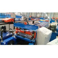 Quality 6 Corrugated Roofing Sheet Roll Forming Machine With Plc Control System for sale