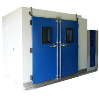 Wholesale Temperature And Humidity Test Chamber R23 / R404a Walk In Chamber With Viewing Window from china suppliers