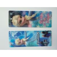 Wholesale Frozen Design PET 3D Lenticular Bookmarks For Christmas 152 X 57 MM Size from china suppliers