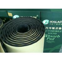 Wholesale 10mm Adhesive Acoustic Insulating Foam Moisture proof Noise Reducing Material Black from china suppliers