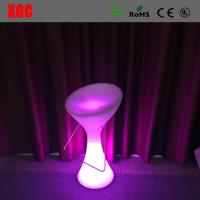Wholesale 2016 Hot Sale Plastic Glowing Chair With Rechargeable RGB LED Lights from china suppliers