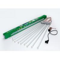 Wholesale Snow Falling LED Meteor Lights White / Warm White 100 - 240v 50cm 10 Tubes from china suppliers