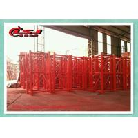 Quality High Safety Double Cage Hoist / Material Lift Elevator For Construction Site for sale