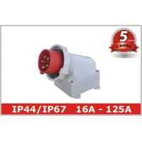 Wholesale IP67 Waterproof Industrial Plugs Appliance Inlet Wall Mounted CEE IEC from china suppliers