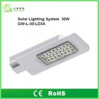 Wholesale DC12V Outdoor Solar Powered LED Street Lights 30W IP65 With 8 Years Warranty from china suppliers