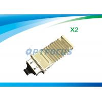 Wholesale 1310nm Single Mode Fiber Transceiver , 10km LC Transceiver 10gbase-sr x2 module DDM from china suppliers
