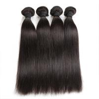 Wholesale Double Machine Weft Virgin Human Hair Bundles Long Straight Hair ExtensionsFor Thin Hair from china suppliers