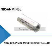 Wholesale 1/8 1/4 3/8 1/2 Standard Pneumatic Mechanical Valve NBSANMINSE KAM Pneumatic Check Valve from china suppliers