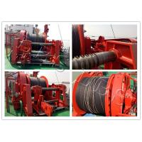 Wholesale Marine 20-Ton Hydraulic Winch / Horizantal & Hoist Winch with Large Rope Capacity from china suppliers