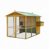 Wholesale Chicken House/Large Wooden Chicken Coop, Measuring 279 x 185 x 188cm from china suppliers