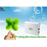 Wholesale Creamy White Car Air Purifier Household Ozone Generator Remove Smoke from china suppliers