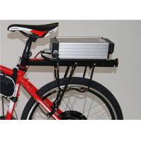 Wholesale 48v 10ah Rear Rack Electric Bicycle Battery Pack 365mm*150mm*80mm from china suppliers
