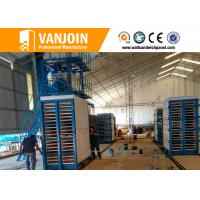 Wholesale One key EPS Cement Sandwich Panel Production Line For UAE , Easy Operation from china suppliers