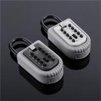 Wholesale Weatherproof Portable Key Lock Box Push Button Key Safe for House Outside from china suppliers