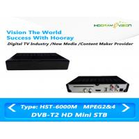 Wholesale Full HD MPEG 4 CAS DVB T2 Set Top Box Digital Terrestrial Receiver With Smart Card from china suppliers