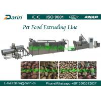 Wholesale Foodstuff Feedstuff Two screw extruder Machine / dog food machinery from china suppliers