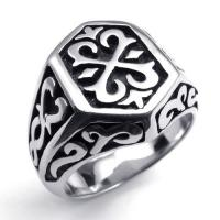 Wholesale Tagor Jewelry Super Fashion 316L Stainless Steel Casting Rings Collection PXR045 from china suppliers