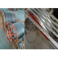 Wholesale Anti twisting Braided Steel Wire Rope Conductor Stringing Rope 12 Strands 6 Squares 18mm from china suppliers