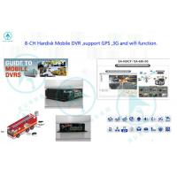 Mini Vehicle Mobile DVR With GPS Tracking MDVR MAX 64GB , Mobile Digital Video Recorder